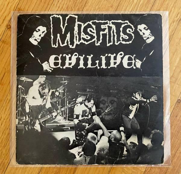 MISFITS EVILIVE 7    Fiend Club Edition  311 1000 Danzig Samhain Punk