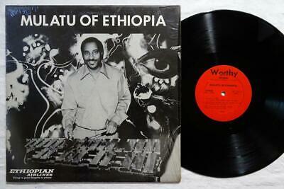 MULATU ASTATKE Of Ehtiopia ORIG AFRO LATIN GROOVE WORTHY LP VG   HEAR