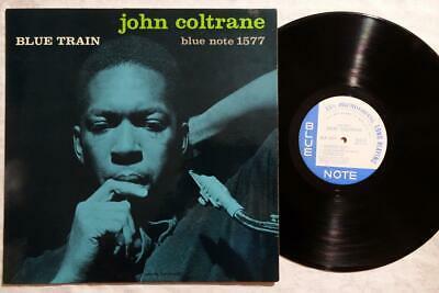 JOHN COLTRANE Blue Train LEE MORGAN ORIG BLUE NOTE JAZZ LP DG W63 EAR NM
