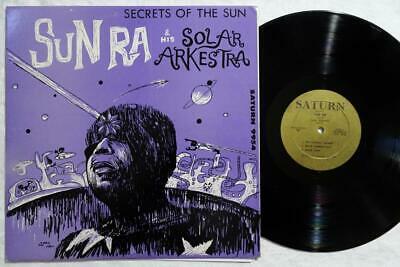 SUN RA Secrets of The Sun ORIG FREE JAZZ SATURN LP VG  RARE