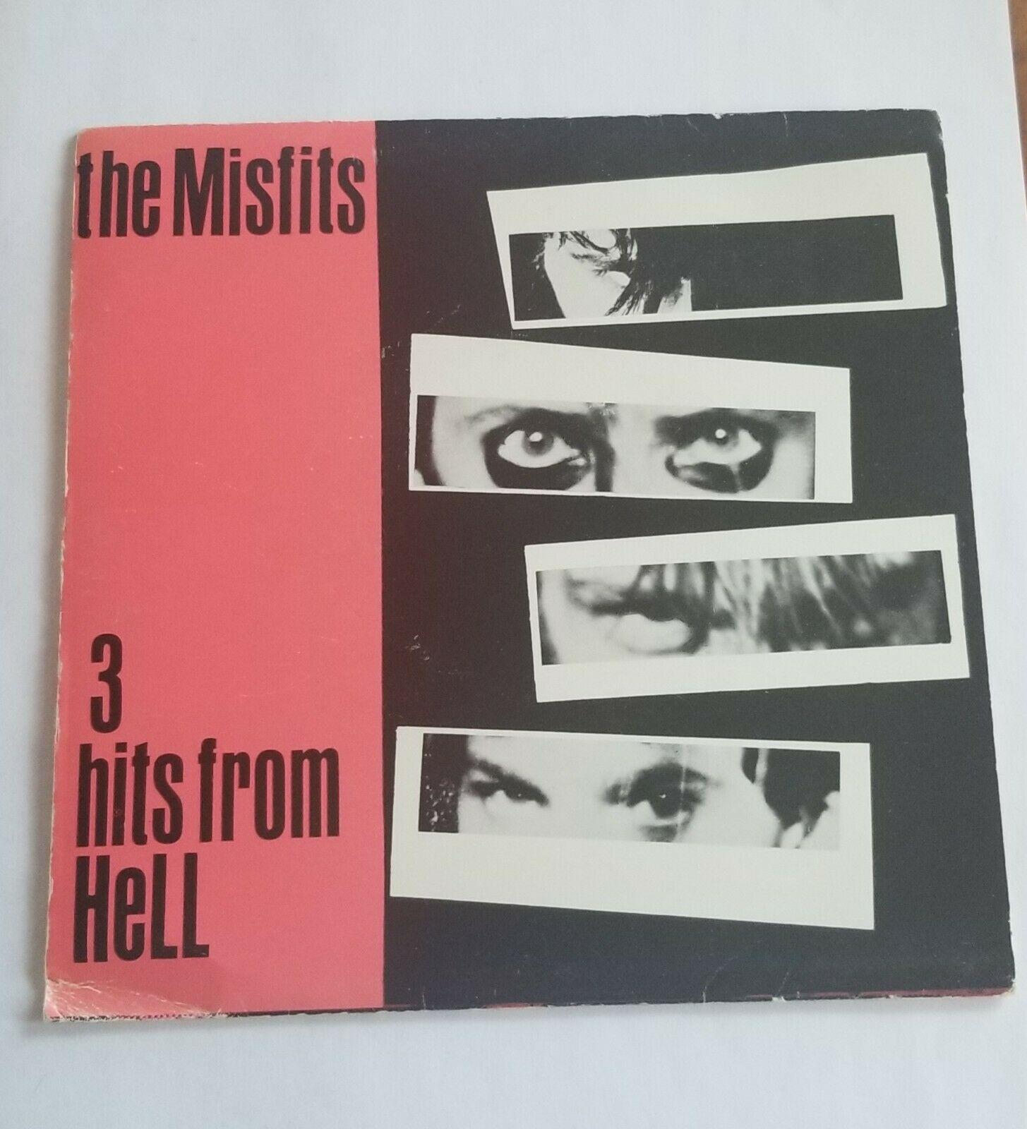 Misfits 3 hits from hell 7  vinyl