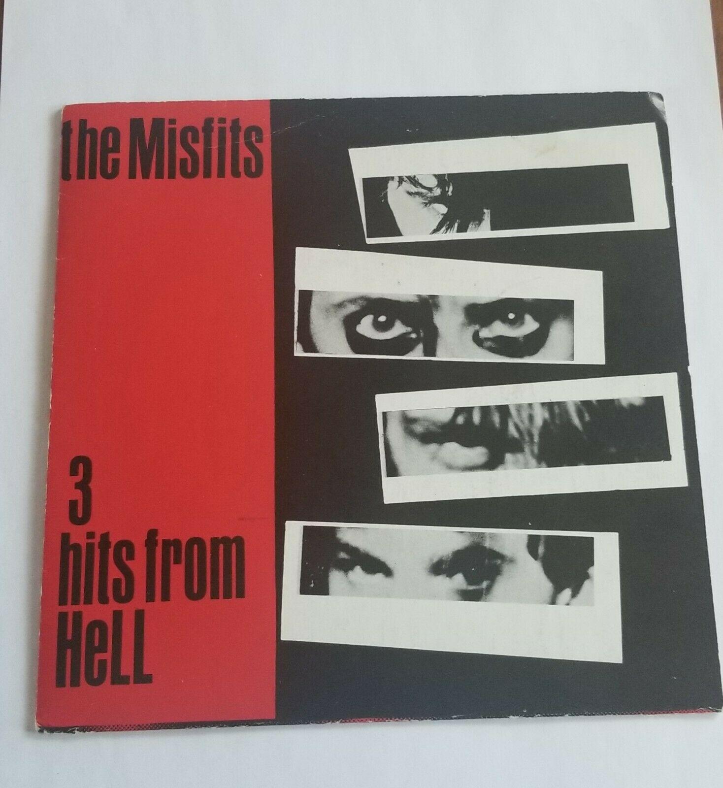 Misfits 3 hits from hell 7  vinyl  RARE