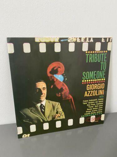 LP ITALIAN JAZZ GIORGIO AZZOLINI TRIBUTE TO SOMEONE CIAO  Ragazzi Jazz Megarare