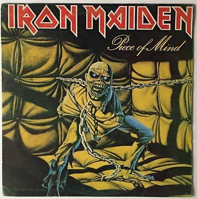 IRON MAIDEN   Piece Of Mind   RARE GUATEMALA LP