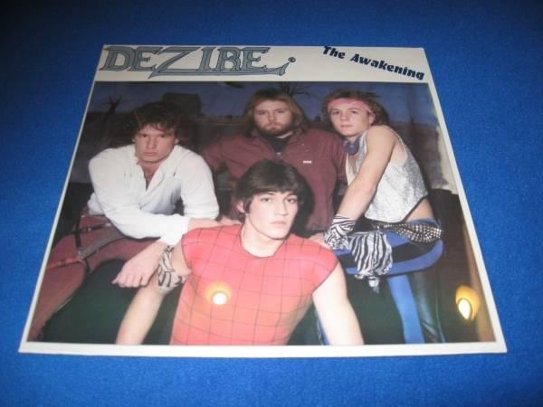 DEZIRE   THE AWAKENING LP      PRIVATE METAL   CROW HAVEN   ARCHITECT   SEALED