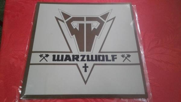 Warzwolf   Valley of the shadow LP private metal nwobhm slayer venom thrash
