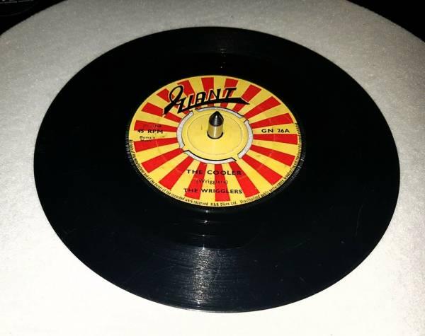 The Wrigglers   The Cooler Rare Rocksteady Reggae Killer 45