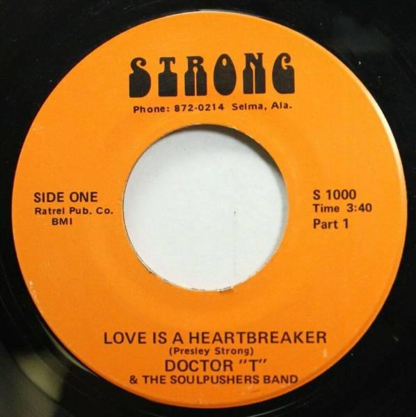 Hear  Northern Soul Deep 45 Doctor T   Love Is A Heartbreaker   Love Is A Heartb