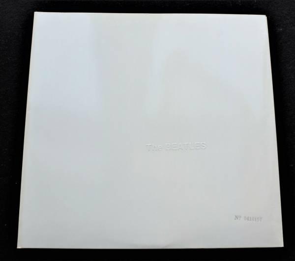 BEATLES White Album UK Apple STEREO 1968 1st pressing Psych  MINT  D LP