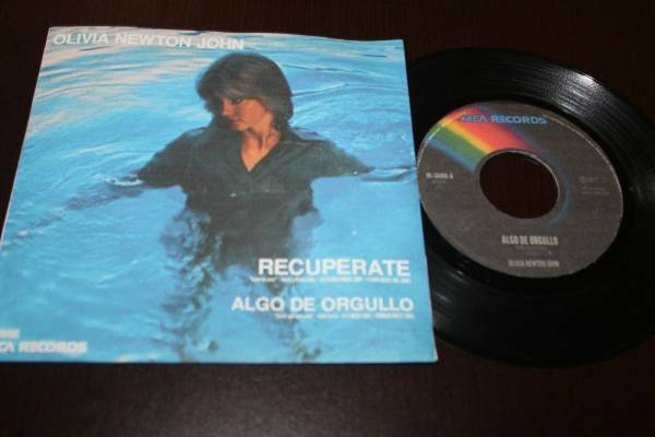 OLIVIA NEWTON JOHN Recuperate   Come On Over 1977 MEXICO 7  45 Pop Vocal