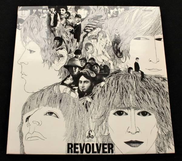 BEATLES Revolver UK Parlophone 1966 1st pressing STEREO LP  MINT  Psych