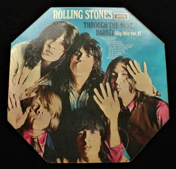 ROLLING STONES Through The Past Darkly UK Decca 1st Pressing 1969  MINT  LP
