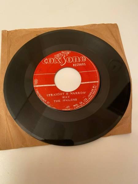BOB MARLEY AND THE WAILERS CLIMB THE LADDER RARE COXSONE ORIGINAL 45 1964