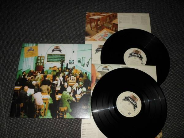 OASIS 2 LP THE MASTERPLAN RARE ORIGINAL 1998 HELTER SKELTER NM BLUR GALLAGHER