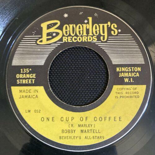 ska BOB MARLEY Bobby MARTELL One Cup Of Coffee 45 Diamond Baby Wailers Coxsone 7