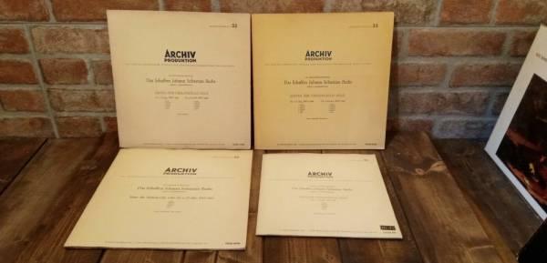 ENRICO MAINARDI   JS BACH 6 suites for cello solo ARCHIV 3x12    10  ED1 MONO