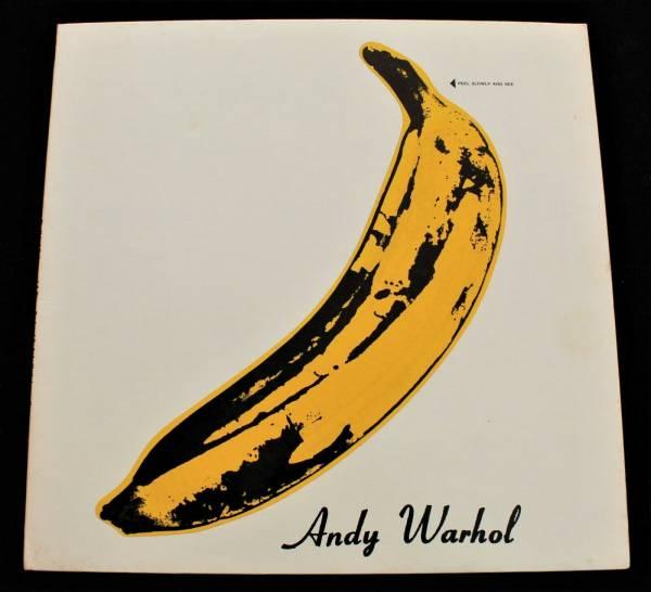 VELVET UNDERGROUND   NICO US 1968 STEREO  Airbrushed  MINT LP Banana Psych