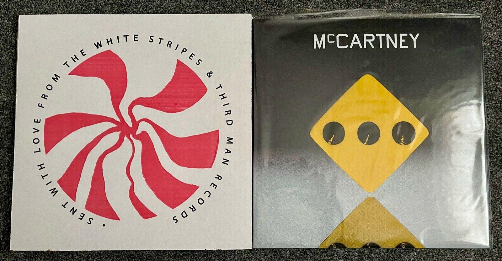 Paul McCartney III Third Man Records iii Yellow Vinyl LP 333 Made