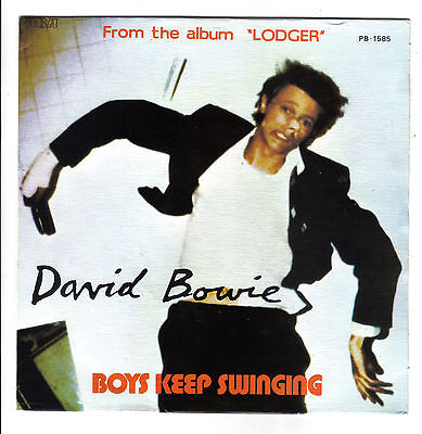 Bowie David Bowie 70s 7Boys Keep SwingingFantasticRCA Portugal pic sleeve