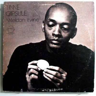 WELDON IRVINE TIME CAPSULE INSANELY RARE ORIG  73 NODLEW PRIVATE ACID JAZZ LP NM