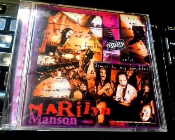Demos In My Lunchbox Vol  2 by Marilyn Manson  CD 1996 KTS  RARE