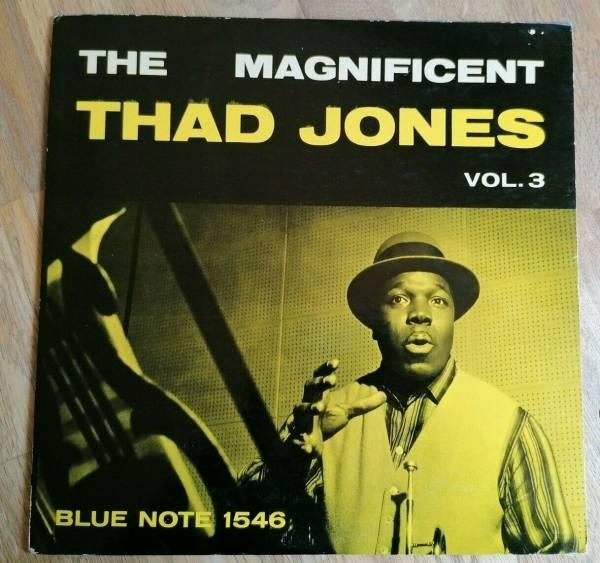 The Magnificent Thad Jones LP USA Blue Note Mono 1st Press BLP 1546 RVG EAR DEEP