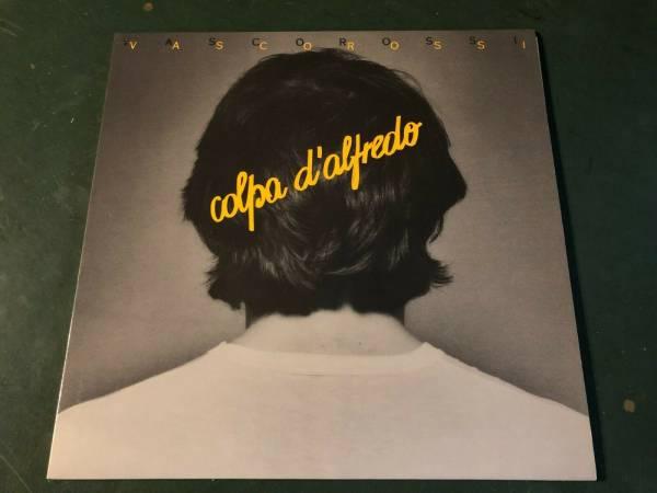 VASCO ROSSI Colpa d Alfredo 1   STAMPA VINILE Originale TARGA TAL 1401 disco 1980