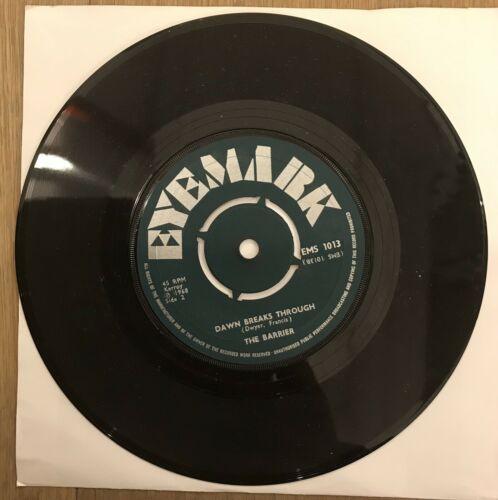 The Barrier Freakbeat Psych Mod 45 Eyemark Dawn Breaks Trough Rare UK Vinyl 1968