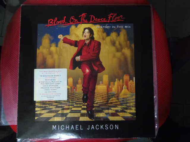 MICHAEL JACKSON BLOOD ON THE DANCEFLOOR NEAR MINT  LIMITED EDITION VINYL 2 LP
