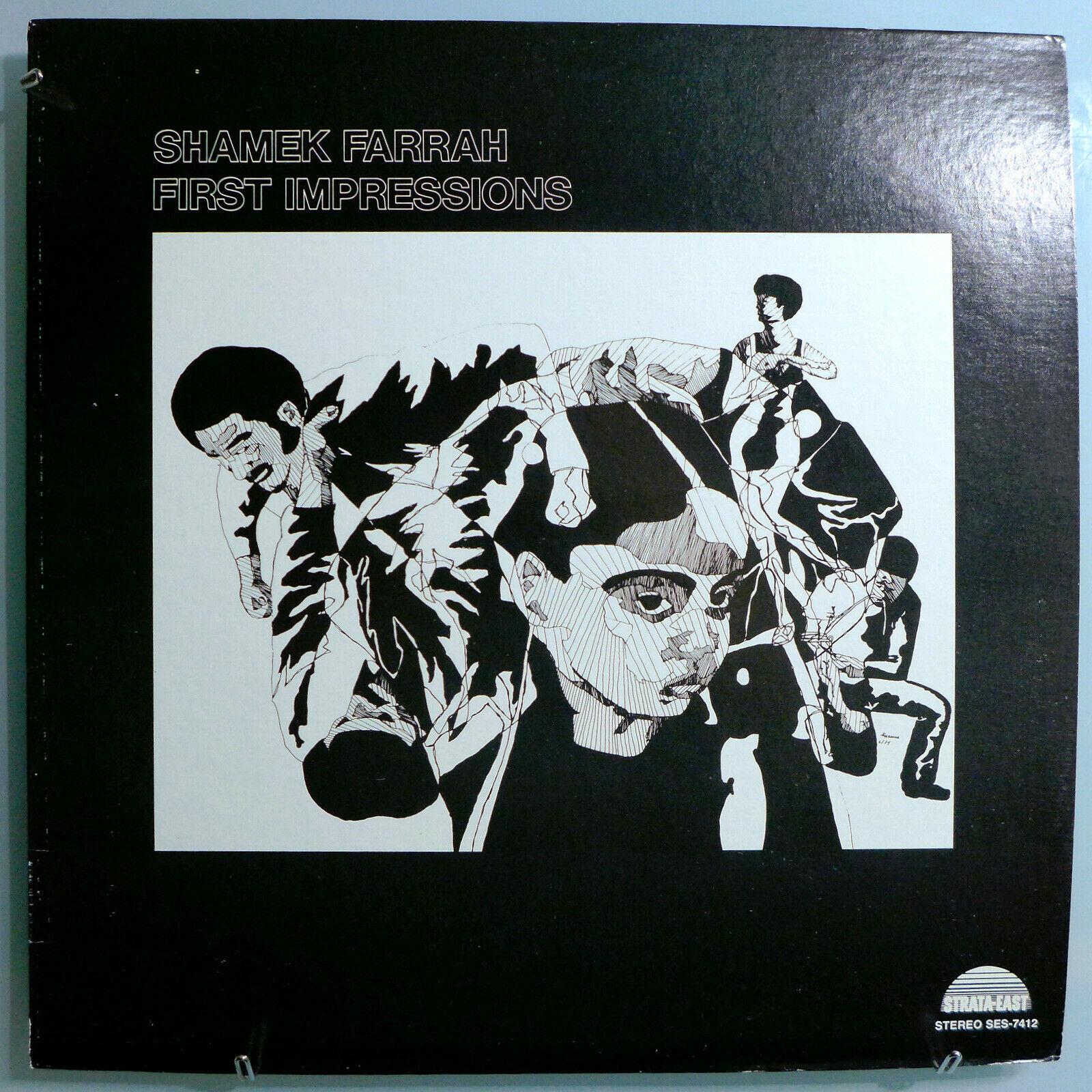 SHAMEK FARRAH FIRST IMPRESSIONS INSANELY RARE ORIG  74 STRATA EAST LP MINT