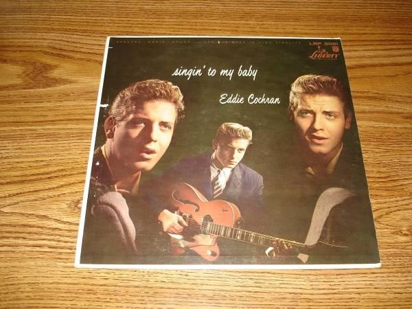EDDIE COCHRAN LP on LIBERTY from 1960   SINGIN  TO MY BABY   ORIGINAL  Near Mint