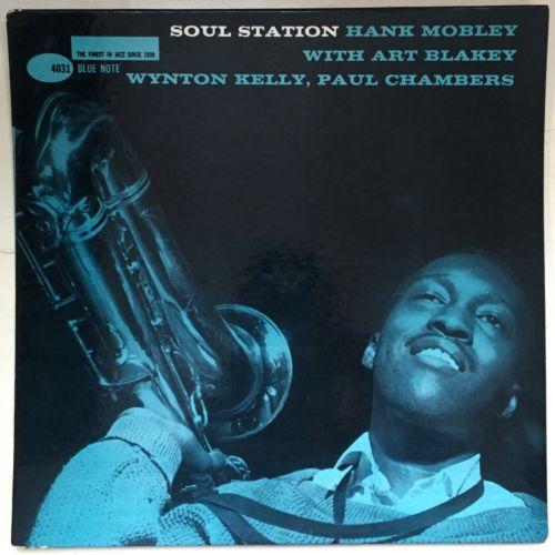 Hank Mobley  Soul Station  Jazz LP Blue Note DG Mono RVG Ear 63rd VG
