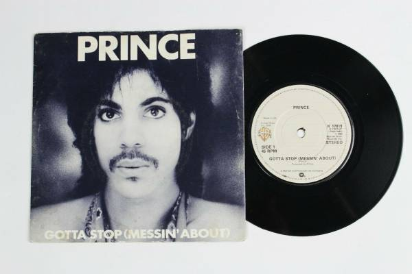 Prince        Gotta Stop  Messin  About  1981 UK K17819 7  Vinyl Record Single RARE
