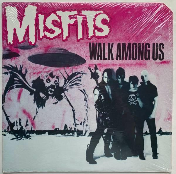 Misfits  Walk Among Us  Ultra Rare Punk LP Plan 9 Ruby Original Promo Sealed