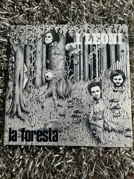 I LEONI    LA FORESTA MEGARARE  ITALY PROG PSYCH ROCK MINT LP 1971
