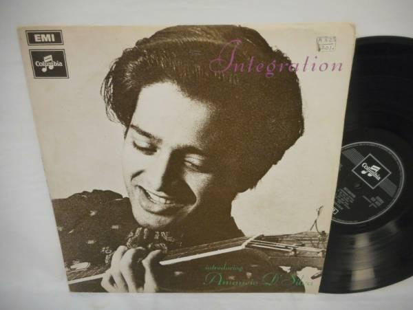 AMANCIO D SILVA Integration LP EX 1969 orig UK Columbia SCX 6322 Rendall Carr