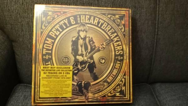 TOM PETTY   HEARTBREAKERS Live Anthology Deluxe 5CD 2DVD vinyl BluRay sealed OOP