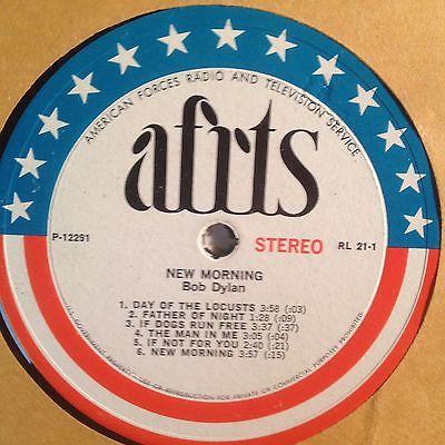 BOB DYLAN AFRTS LP Record Album Vinyl Tim Buckley Psych MONSTER MEGA RARE