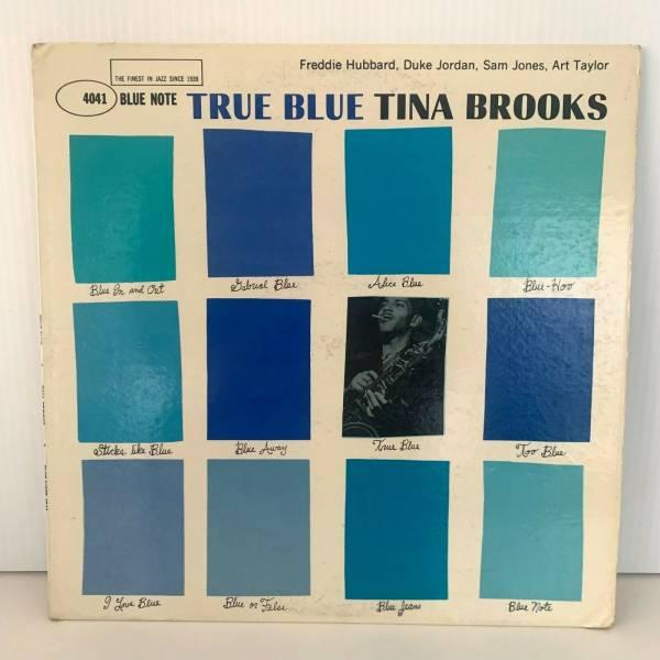 TINA BROOKS   TRUE BLUE MONO BLUE NOTE LP 4041 RVG  EAR 1960 DG W 63rd NYC