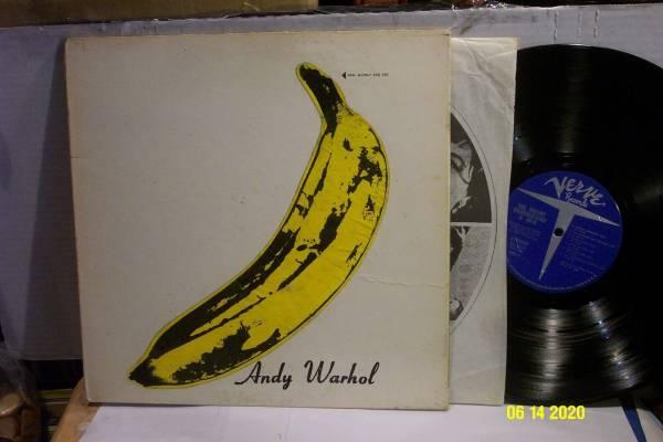 THE VELVET UNDERGROUND LP  w  Nico  VERVE w WARHOL BANANA STICKER   TORSO VG EX