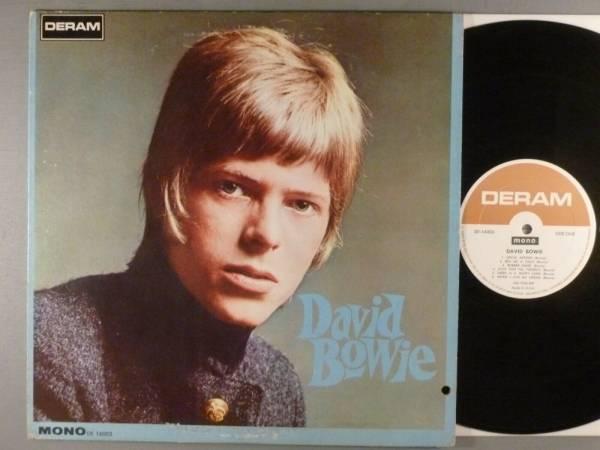 David Bowie  Self Titled   Pop Psych  Mod   Mono  RARE LP