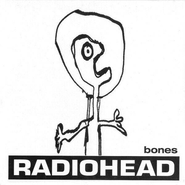 Radiohead   VERY RARE Bones Promo CD Belgium   The Bends