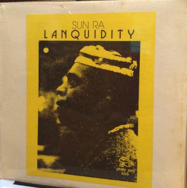 SUN RA   Lanquidity  Philly Jazz LP    rare glued on sleeve   SEALED