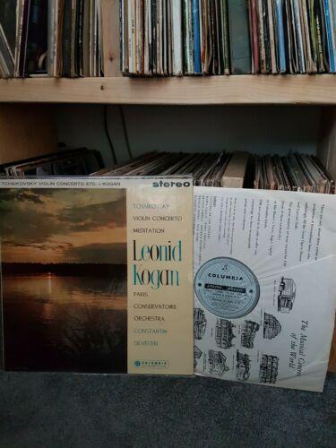 SAX 2323 Tchaikovsky Violin Concerto KOGAN BLUE SILVER 1st press UK lp