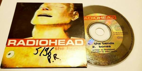 Radiohead The Bends 2 track Promo cd BELGIUM rare