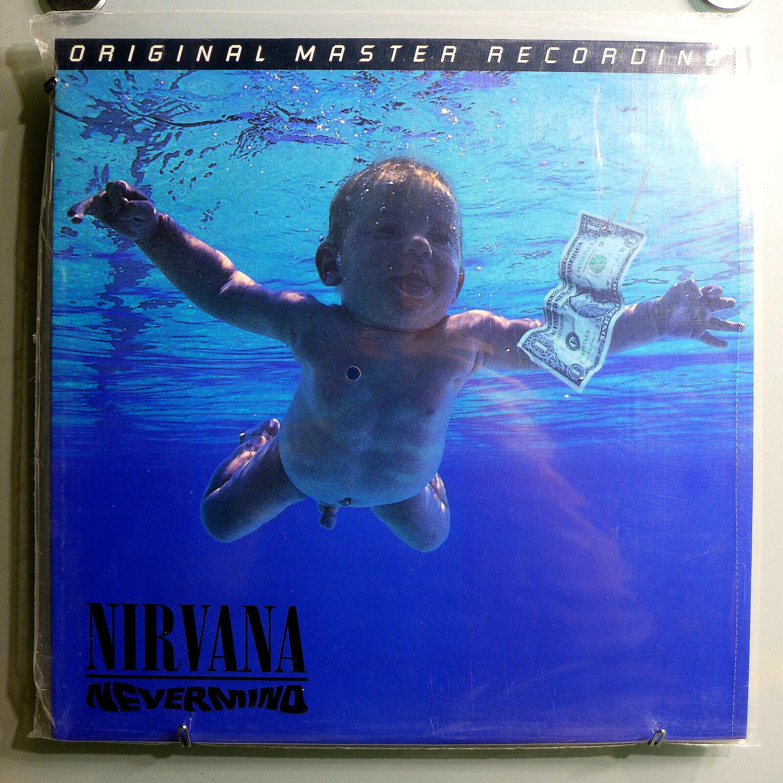 NIRVANA NEVERMIND RARE SEALED ORIG  96 MFSL  ED LTD EDITION 200gr AUDIOPHILE LP