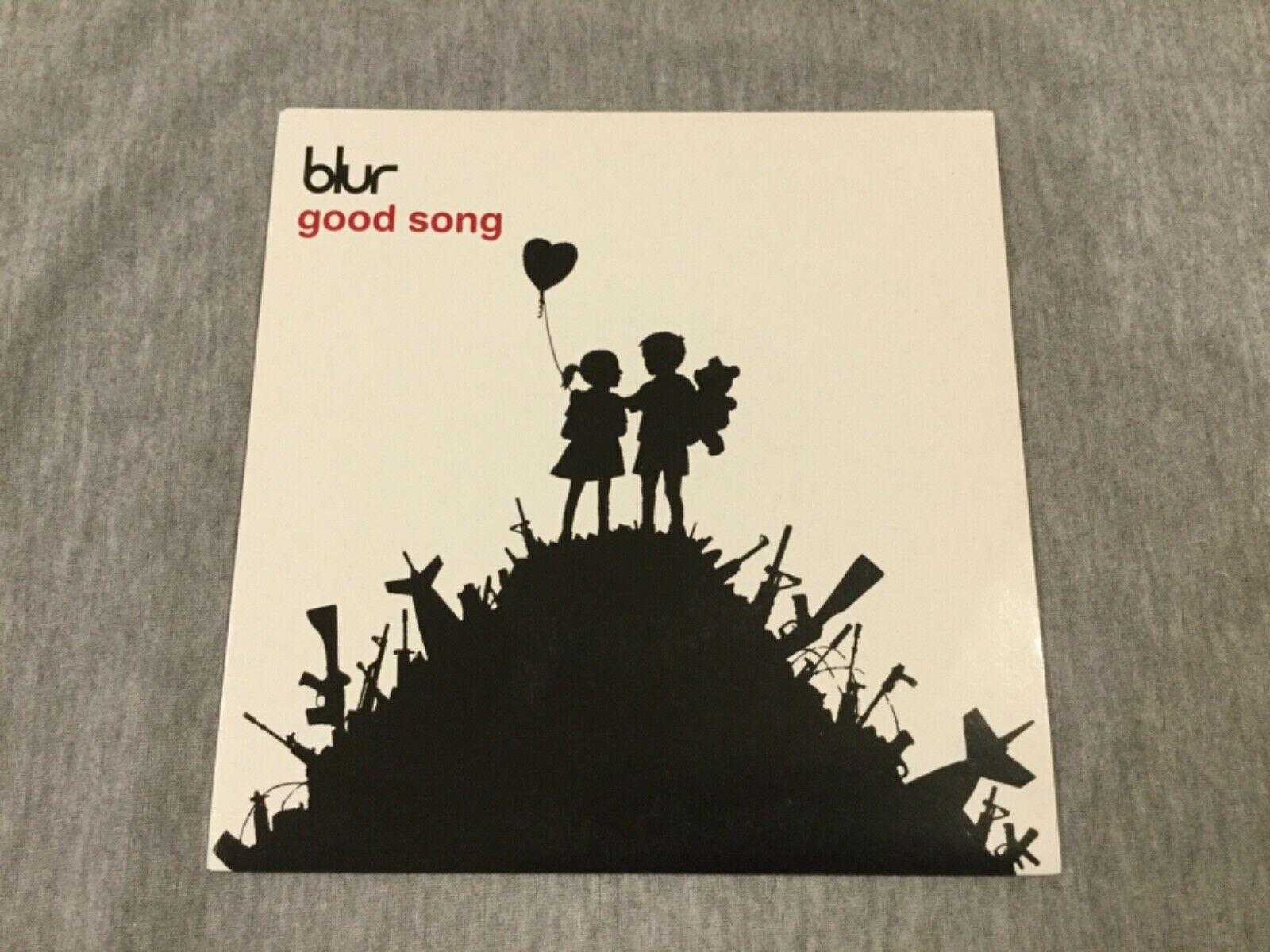 BLUR good song 7    Vinyl BANKSY COVER