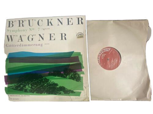 Bruckner Symphony 7  CPO  Mataci Four Supraphon SUA 50809 10 Stereo Ed1 2LP NM