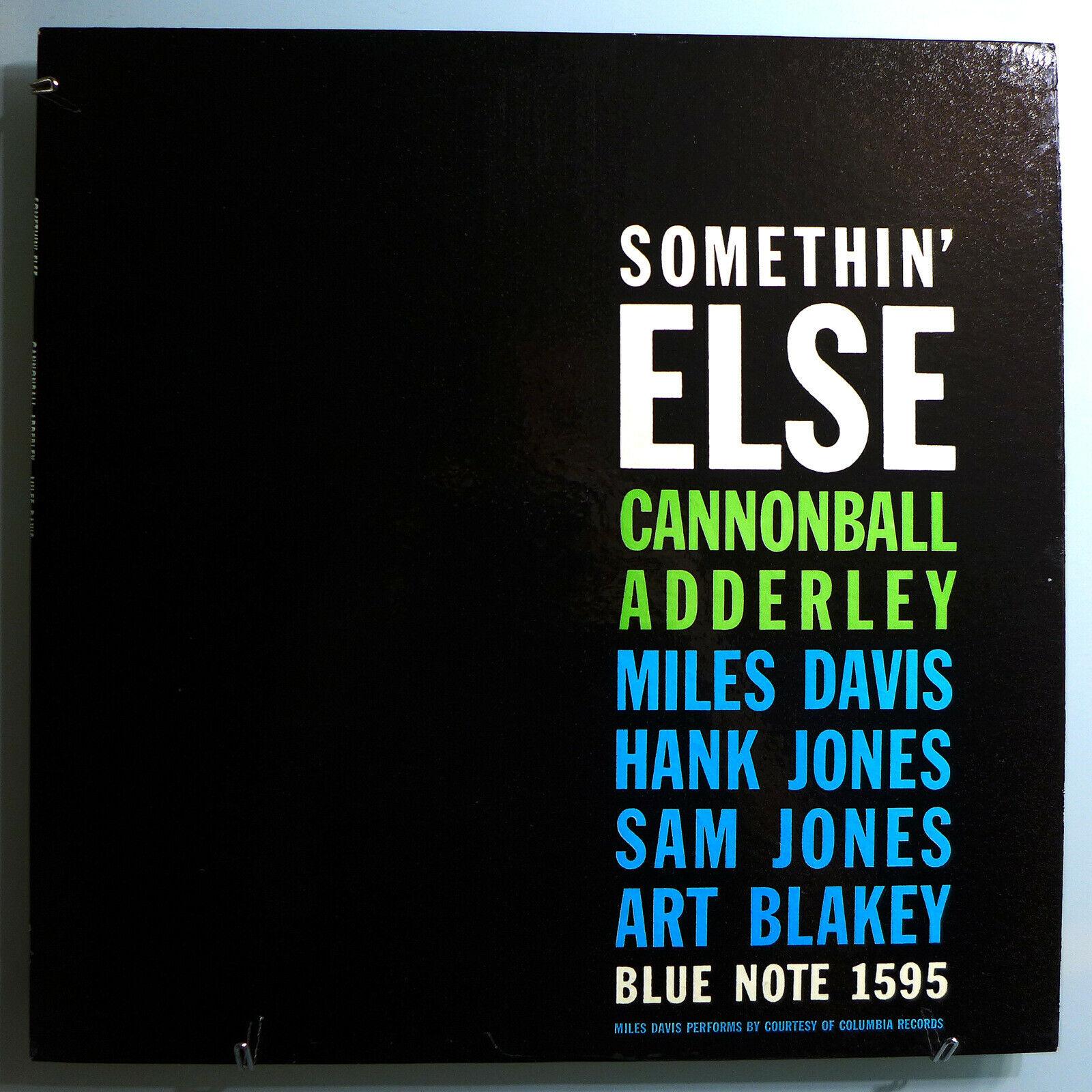 CANNONBALL ADDERLEY w MILES DAVIS SOMETHIN  ELSE RARE ORIG  58 BLUE NOTE MONO LP