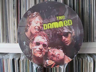 THE DAMNED   NEW ROSE MEGA RARE 12  PICTURE DISC PROMO THE BLACK ALBUM LP PUNK